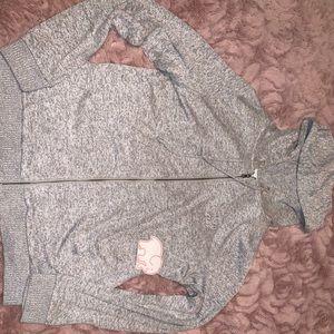 NWT Ivory Ella zip up hoodie